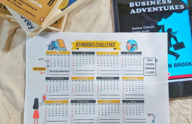 Lees meer en vaker boeken met de #24books challenge